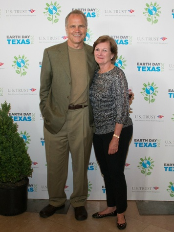 Mary Cook, Dan Patterson, Earth Day Texas Leadership Dinner