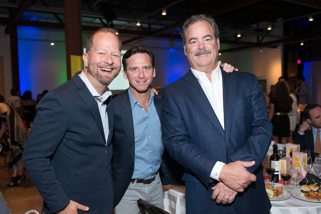 Project 88 gala, 4/16, Chris Seay, David Hartland, Cal McNair