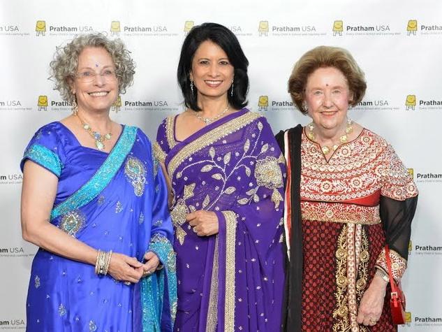 Houston, News, Ruchi Mukerjee, Pratham Gala, May 2015, Lillie Robertson, Dr. Renu Khator, Harriet Latimer