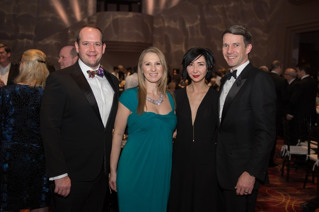 HGO Concert of Arias, Feb. 2016, Dr. Warren Ellsworth, Dr. Rachel Ellsworth, Carrie Brandsberg-Dahl, Sverre Brandsberg-Dahl