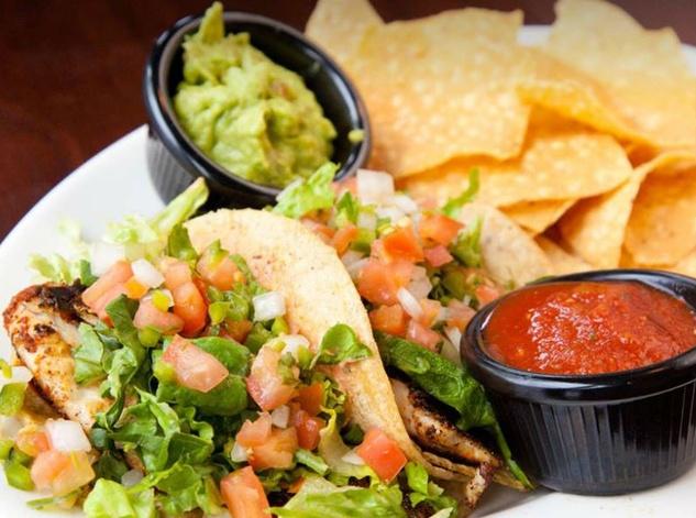 Tacos at Green Door Public House in Dallas