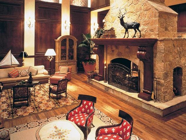Houstonian Hotel, Club & Spa lobby
