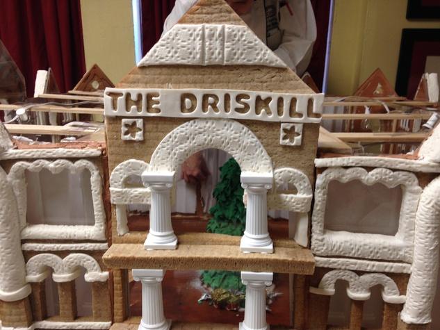 Driskill Hotel gingerbread house
