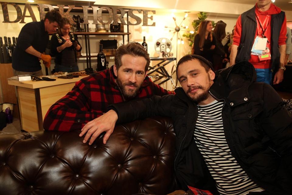 Ryan Reynolds and James Franco at Sundance Film Festival