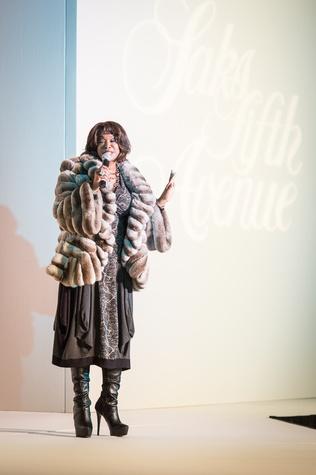 Deborah Duncan at the Nutcracker Market Saks luncheon and fashion show November 2014