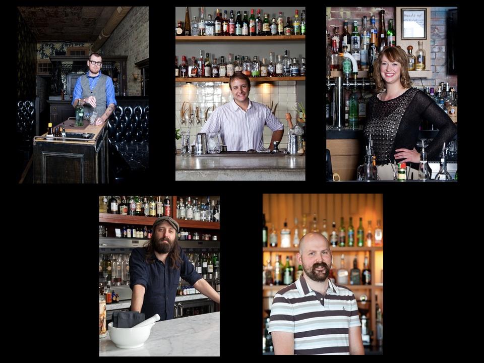 Austin Photo Set: News_dupuy_tastemakers_craft bartenders_april 2013