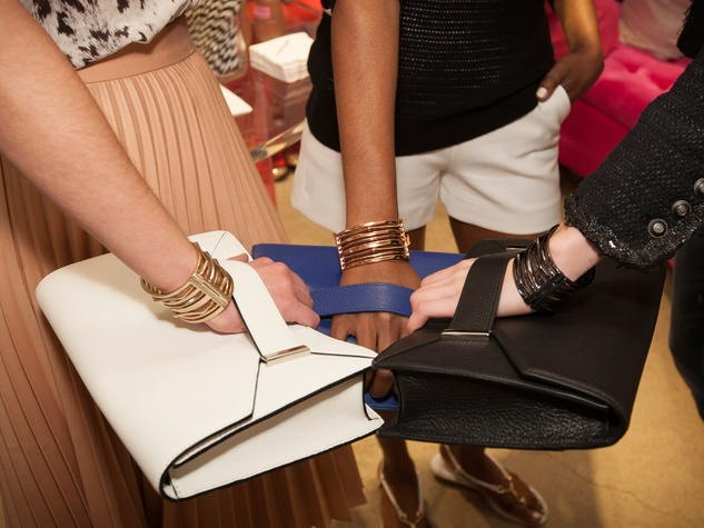 Purses at the InStyle for Nine West event March 2014