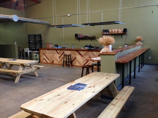 Hops & Grain new tasting room