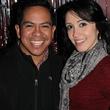 7 Daniel Ortiz and Kahlia Castellanos at the Eleven XI party November 2013