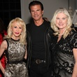 4 Diane Lokey Farb, from left, Lorenzo Lamas and Mica Mosbacher at A Little Christmas Business movie premiere December 2013