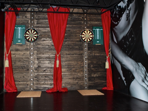 Darla Guillen, Proof, bar, November 2012, dart boards