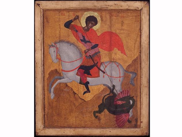 Imprinting the Divine, St. George Dragon