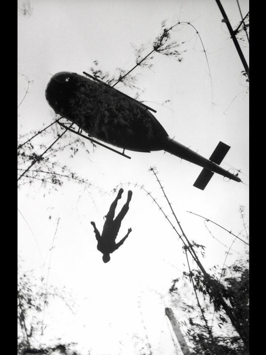MFAH, War-Photography, November 2012, Huet - Body of an American Paratrooper