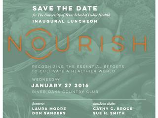 UTHealth School of Public Health Nourish Luncheon 2016