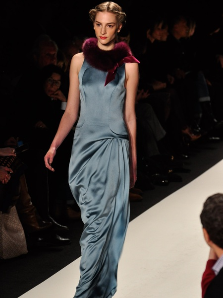 Fashion Week fall 2013, Carolina Herrera, gown