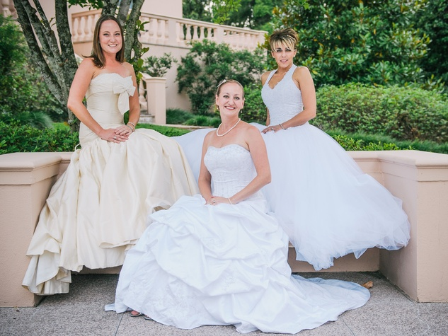 13 Always a Bridesmaid party at Rienzi May 2013 Emily Tucker, Amanda Juarez, Wendy Loch