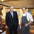 16 Owner Ignacio Torras, left, and Chef Luis Roger at the BCN dinner for Texas Children's Hospital September 2014