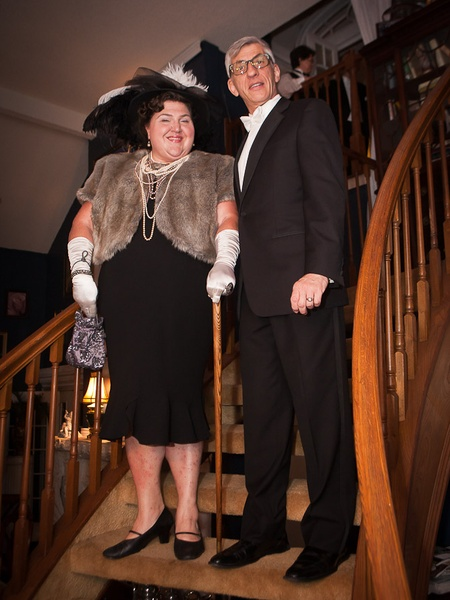 News_Mark Hanna_Titanic dinner_April 2012_Paula Murphy_John Dascoulias