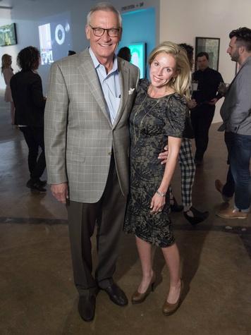 Bill De Arman, Michelle de Metz, redefine preview party