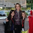 2959 Lucinda Loya, center, with daughters Ana Luca Loya, left, and Elena Loya at the Risotto Festival November 2013