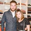 Max Kuhl, Kate Siamro at Steven Alan store opening in Dallas