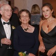 Robert and Wendy Bergman, from left, with Celicia Clementi at the Welch banquet October 2014
