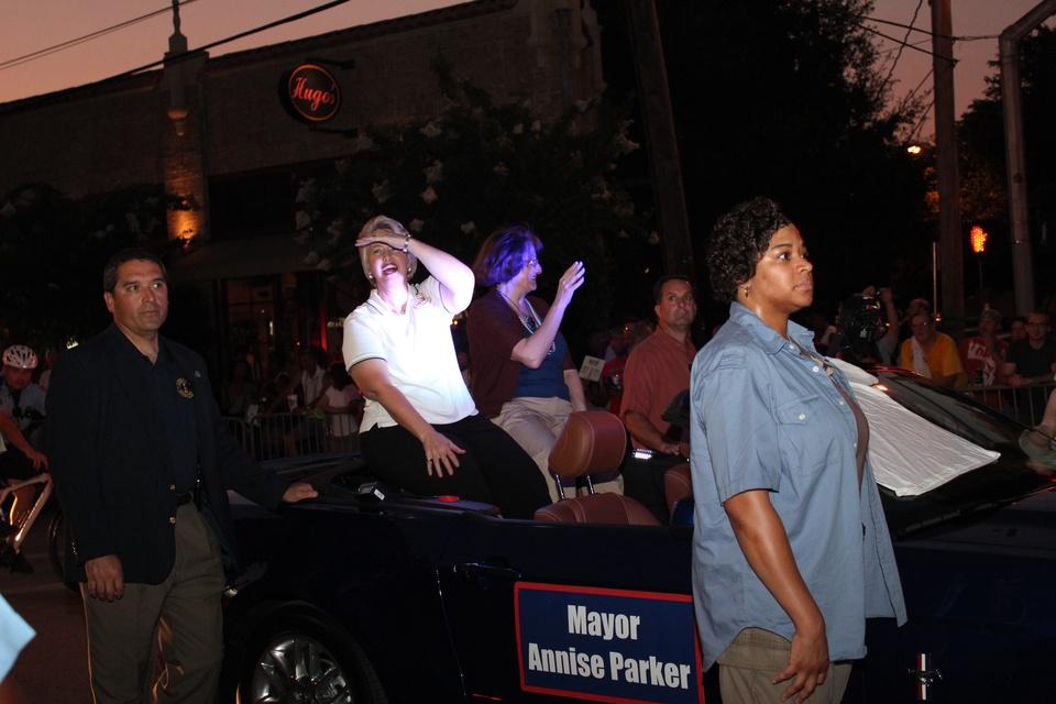Gay Pride Parade, Mayor Annise Parker, June 2012
