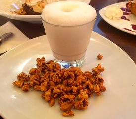 Republic Smokehouse popcorn milkshake