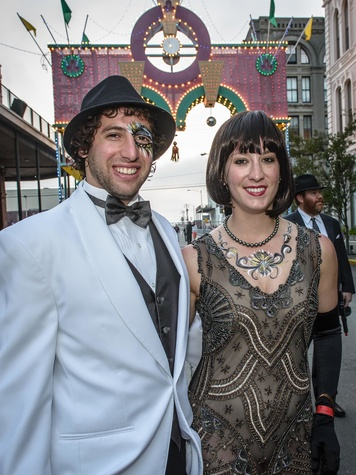 9095 Chad Horwitz and Josephine Imparato at the Tremont Ball March 2014
