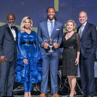 Emmitt Smith, Pat Smith, Larry Fitzgerald Jr, Marianne Staubach, Roger Staubach