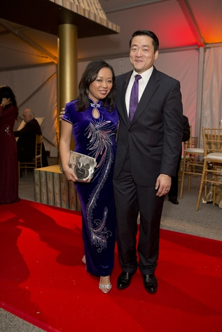 News, Shelby, Asia Society Tiger Ball, March 2015 Miya Shay, Gene Wu