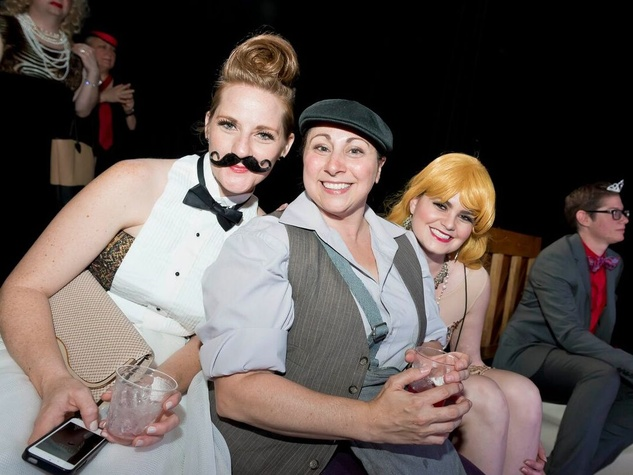 Catastrophic Theatre Drag Ball 2015 Macy Lyne, Lyndsay Sweeney and Mia Marie Migliaccio