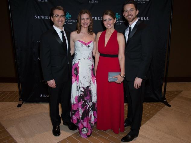 Tim Johnston, Melissa Johnston, Kristen Baker, Jeff Baker