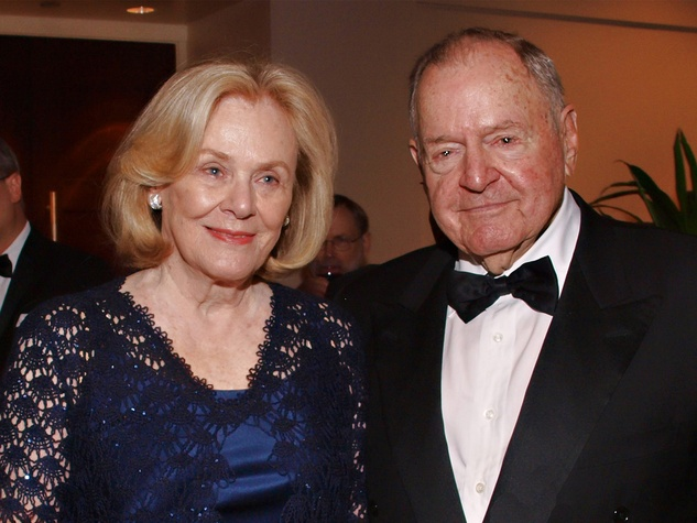 Anne and Charles Duncan at the Welch banquet October 2014
