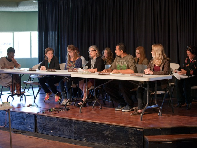 Nancy, City Council Meeting, November 2012, Assata Richards, Sara Kellner, Jennifer Gardner, Nancy Wozny, Carrie Schneider, Christa Forster