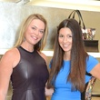 Megan Sutton Reed, left, and Caroline Walter at the Una Notte in Italia lunch at Valentino September 2014