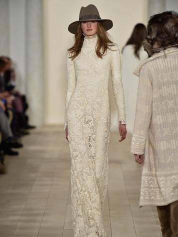 Clifford Fashion Week New York fall 2015 Ralph Lauren February 2015 Look 26