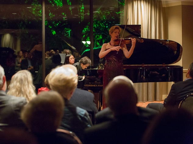 0315 Elizabeth Pitcairn at Houston Friends of Chamber Music Red Violin event March 2014