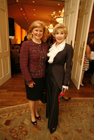19 Jan Duncan, left, and Joanne King Herring at the Texas Children's Hospital Celebration of Champions luncheon October 2014
