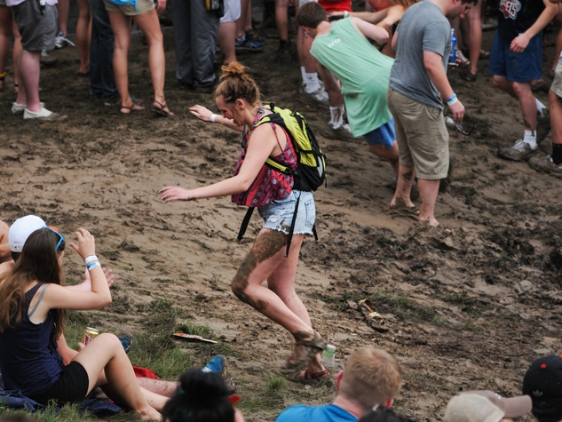 Summer Fest mud