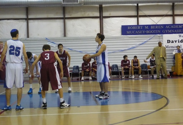 Beren Academy free throw