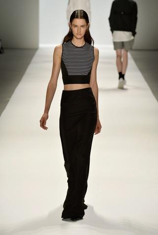 Richard Chai crop top fashion week spring 2014