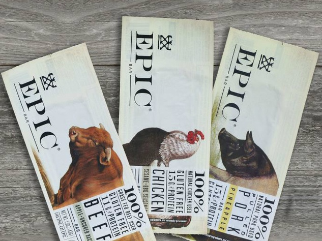 Epic Provisions protein bar flavors Austin brand