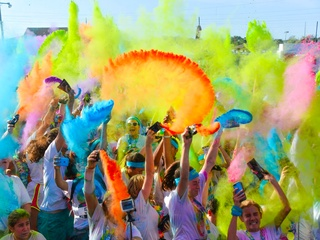 The Color Run Tropicolor World Tour