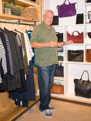 Don Nelson at Steven Alan store opening in Dallas