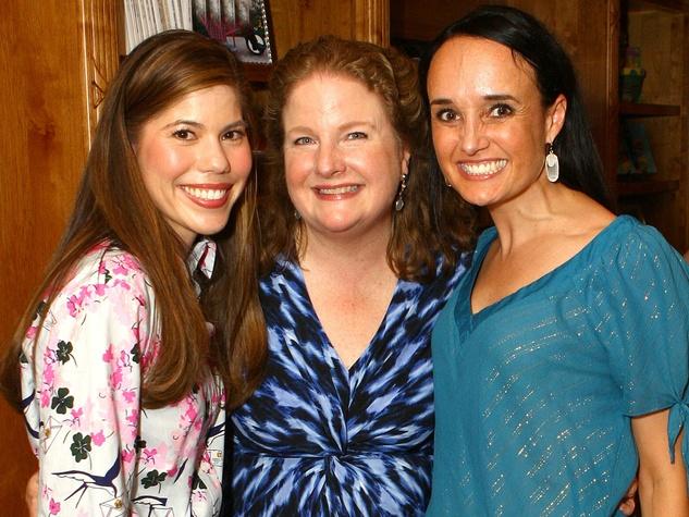 Lara Tafel, Paige McDaniel, president and CEO, Community Partners of Dallas, Joanna Clarke, vice president of development, Community Partners of Dallas, chick lit reunion