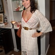 Angilee Burger at the Julie Rhodes Fashion & Home Houston opening party October 2013