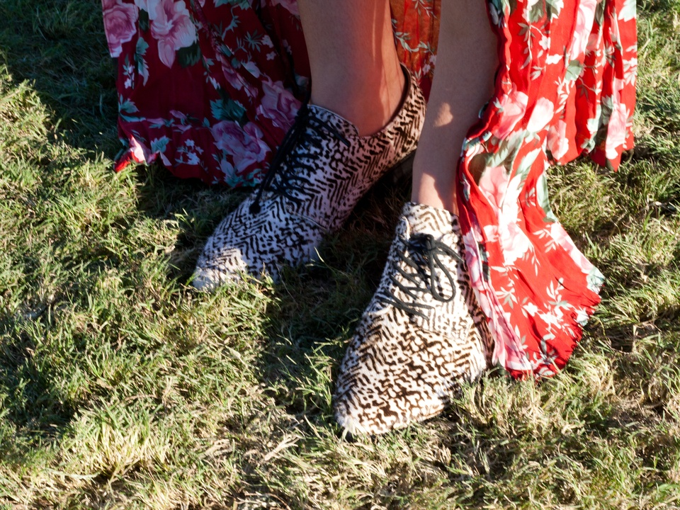 Austin City Limits ACL 2014 Fashion Style Christa Phillips Jeffrey Campbell Shoes