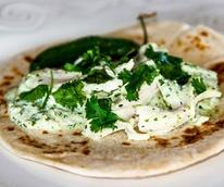Chela's Tacos food truck chicken cilantro taco San Antonio