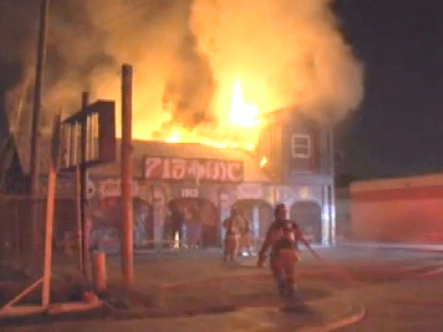 Popular clothing store destroyed in suspected arson fire